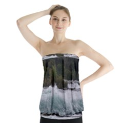 Sightseeing At Niagara Falls Strapless Top