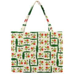 Plants And Flowers Mini Tote Bag