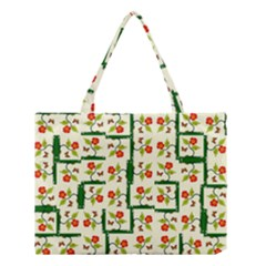 Plants And Flowers Medium Tote Bag