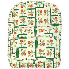 Plants And Flowers Full Print Backpack