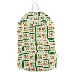 Plants And Flowers Foldable Lightweight Backpack