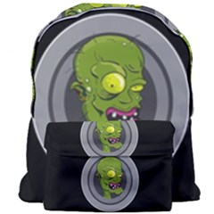 Zombie Pictured Illustration Giant Full Print Backpack