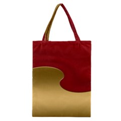 Background Festive Wave Classic Tote Bag