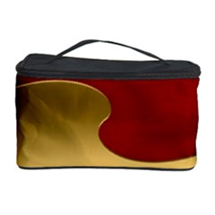 Background Festive Wave Cosmetic Storage Case