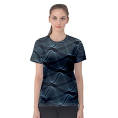 Desktop Pattern Vector Design Women s Sport Mesh Tee