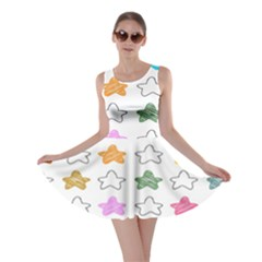 Stars Set Up Element Disjunct Image Skater Dress