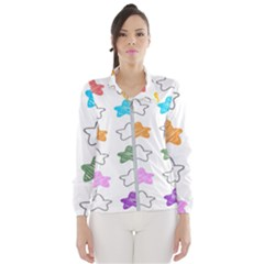 Stars Set Up Element Disjunct Image Wind Breaker (women)