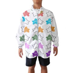 Stars Set Up Element Disjunct Image Wind Breaker (kids)