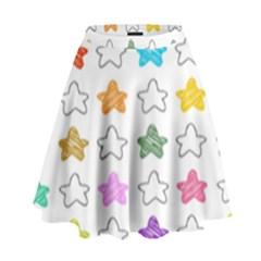 Stars Set Up Element Disjunct Image High Waist Skirt