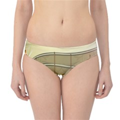 Music Staves Clef Background Image Hipster Bikini Bottoms