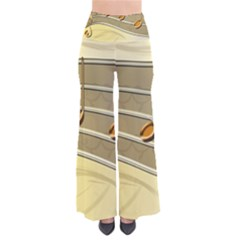 Music Staves Clef Background Image Pants