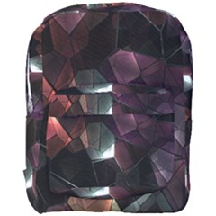 Crystals Background Design Luxury Full Print Backpack