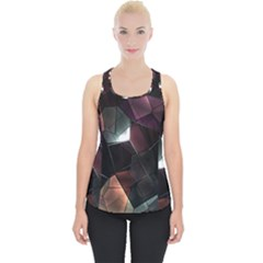 Crystals Background Design Luxury Piece Up Tank Top