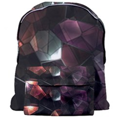 Crystals Background Design Luxury Giant Full Print Backpack