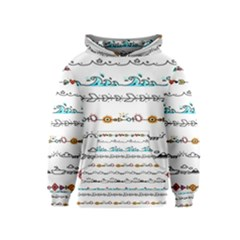 Decoration Element Style Pattern Kids  Pullover Hoodie