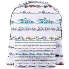 Decoration Element Style Pattern Giant Full Print Backpack
