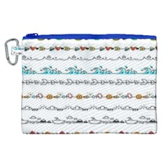 Decoration Element Style Pattern Canvas Cosmetic Bag (xl)