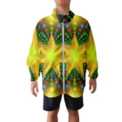 Christmas Star Fractal Symmetry Wind Breaker (kids)