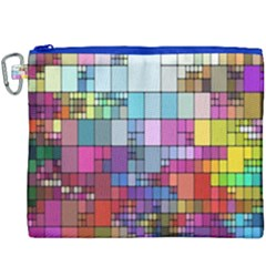 Color Abstract Visualization Canvas Cosmetic Bag (xxxl)