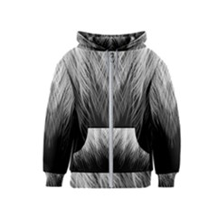 Feather Graphic Design Background Kids  Zipper Hoodie