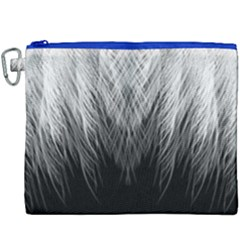 Feather Graphic Design Background Canvas Cosmetic Bag (xxxl)