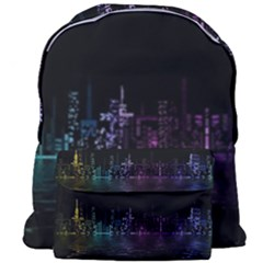City Night Skyscrapers Giant Full Print Backpack