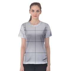 Abstract Architecture Contemporary Women s Sport Mesh Tee