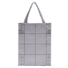 Abstract Architecture Contemporary Classic Tote Bag
