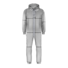 Abstract Architecture Contemporary Hooded Jumpsuit (kids)