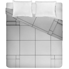 Abstract Architecture Contemporary Duvet Cover Double Side (california King Size)