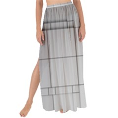 Abstract Architecture Contemporary Maxi Chiffon Tie Up Sarong