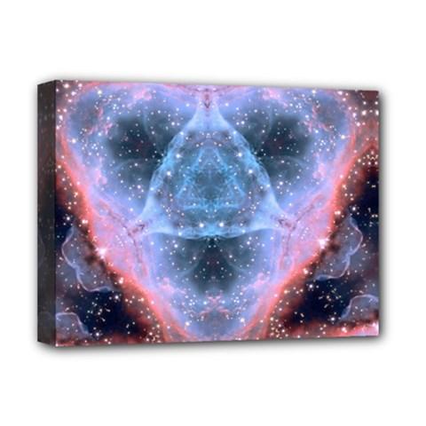 Sacred Geometry Mandelbrot Fractal Deluxe Canvas 16  X 12