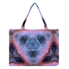 Sacred Geometry Mandelbrot Fractal Medium Tote Bag