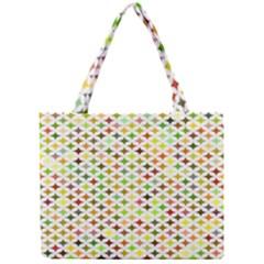 Background Multicolored Star Mini Tote Bag