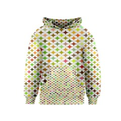 Background Multicolored Star Kids  Pullover Hoodie