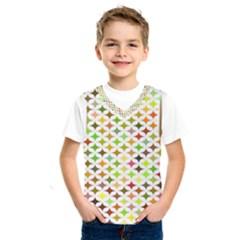 Background Multicolored Star Kids  Sportswear