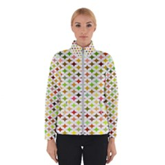 Background Multicolored Star Winterwear