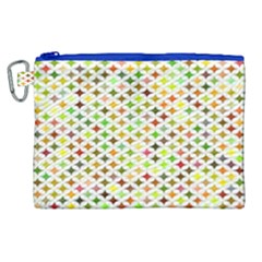 Background Multicolored Star Canvas Cosmetic Bag (xl)