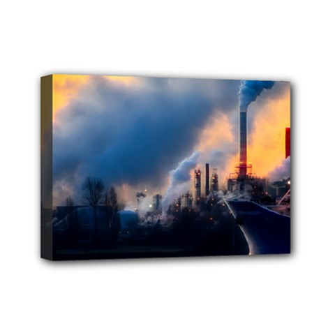 Warming Global Environment Nature Mini Canvas 7  X 5