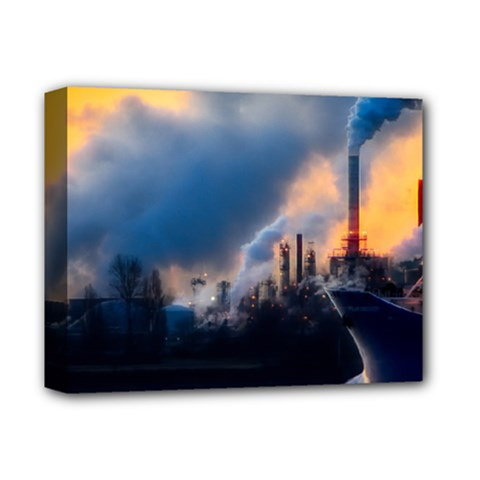 Warming Global Environment Nature Deluxe Canvas 14  X 11