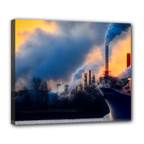Warming Global Environment Nature Deluxe Canvas 24  X 20