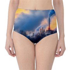 Warming Global Environment Nature High Waist Bikini Bottoms