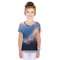 Warming Global Environment Nature Kids  One Piece Tee