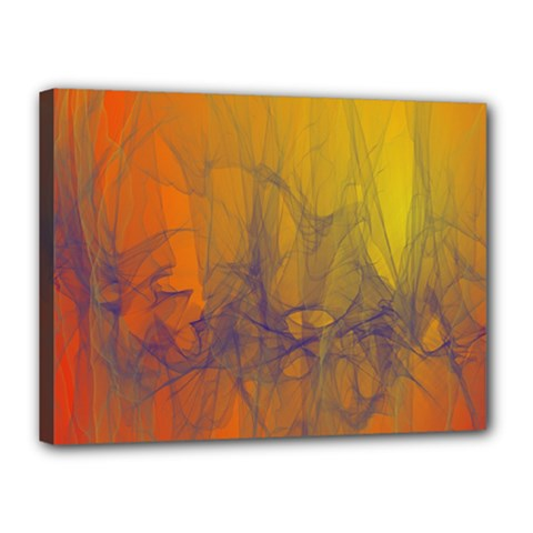 Fiesta Colorful Background Canvas 16  X 12