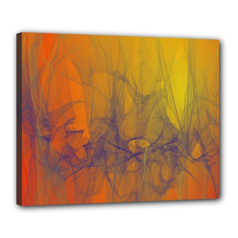 Fiesta Colorful Background Canvas 20  X 16