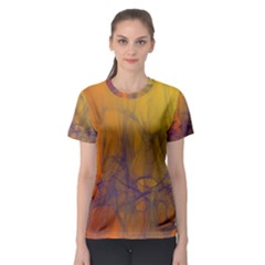 Fiesta Colorful Background Women s Sport Mesh Tee