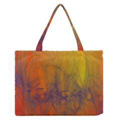 Fiesta Colorful Background Zipper Medium Tote Bag