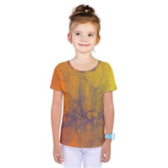Fiesta Colorful Background Kids  One Piece Tee