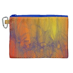 Fiesta Colorful Background Canvas Cosmetic Bag (xl)