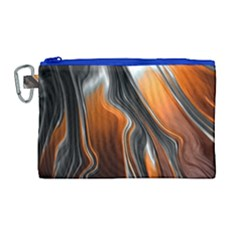Fractal Structure Mathematics Canvas Cosmetic Bag (large)